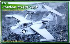 Unicraft Models 1/72 GOODYEAR 39 LARA/COIN Counter-Insurgency Aircraft