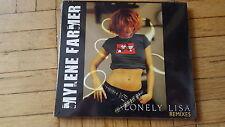 Mylene Farmer - Lonely Lisa  REMIXES [yellow] Maxi CD STILL SEALED!!