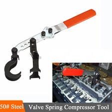 Steel 2 Hooks Valve Spring Compressor Hand Tool For Car Cylinder Head Universal