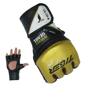 TMA MMA Gloves Fight Heavy Bag Glove Boxing Fitness Training Grappling Punch
