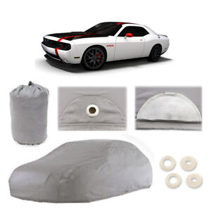 Dodge Challenger Srt 5 Layer Car Cover Outdoor Fit Water Proof Rain Sun UV Dust
