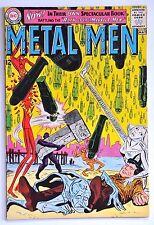 METAL MEN 1963 #1 KEY BOOK! SHARP FINE MINUS SHAPE,LOOKS BETTER !!