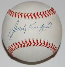 SANDY KOUFAX signed (LOS ANGELES DODGERS) ONL baseball BECKETT CERTIFIED