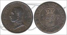 España - Monedas centenario- Año: 1911 - numero 00005 - EBC Alfonso XIII 1 ct. 1