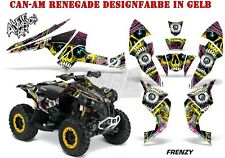 AMR Racing DECORO KIT ATV CAN-AM Renegade, d250, ds450, ds650 GRAPHIC KIT Frenzy B