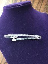 Diamond Tennis Bracelet 14K White Gold 3 1/2 ct. Genuine diamonds value $5,500