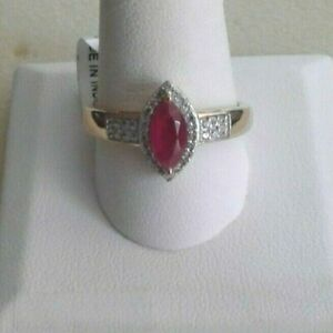 Niassa Ruby Zircon In Vermeil YG Over Sterling Silver Ring (Size 11) 1.85 Cts