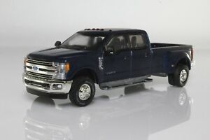 2019 Ford F-350 Dually Lariat Pickup Truck 1:64 Scale Diecast Model F350 Blue