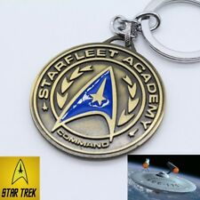 Star Trek LOGO Command Starfleet Academy Keychain Key chain Next Generation TOS