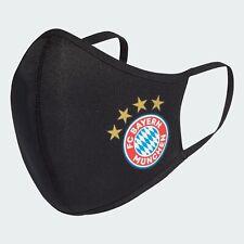 █ Adidas FC Bayern München - Face Cover schwarz Größe M/L █