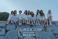 TWICE 1ST PHOTOBOOK [ONE IN A MILLION] Making DVD+310p Photo Card+1p Stand Photo