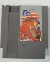 Nintendo Double Dribble NES Cartridge Game Basketball Sports Video Vintage 1985