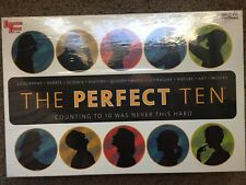 THE PERFECT TEN  Board Game University Games NEW 2003 01860