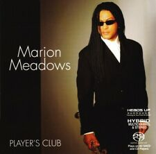 MARION MEADOWS Player's Club RARE OUT OF PRINT HYBRID 5.1 SURROUND SOUND SACD