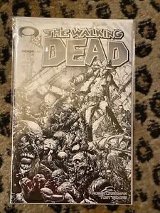 Walking Dead #1 15th Anniversary CGC 9.8 Finch Black and White Cover C Variant