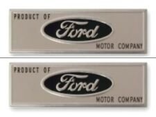 FORD 1962-67 Falcon Fairlane Mustang Sill Plate Emblems