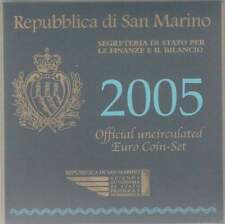 San Marino set 2005 / 1 cent - 2 euro KMS