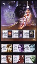 2017 Portugal Star Wars 40th Anniversary set, souvenir sheet & booklet - 2 scans
