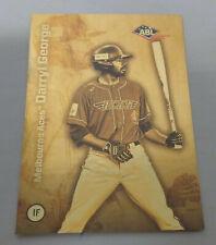 Darryl George LIMITED EDITION FOIL (Australian Baseball League) Melbourne Aces
