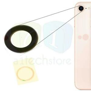 Apple iPhone 8 4.7 Genuine Replacement Rear Glass Camera Lens Part Adhesive