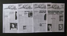 TWIN PEAKS GAZETTE 3 ISSUES PLUS SPECIAL EDITION