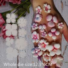 Flower Metal Cutting Dies Stencils Scrapbooking Embossing Handcraft Paper Card