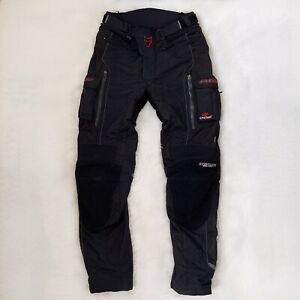 Wolf Titanium Outlast Textile Motorcycle Trousers Pants Black CE Approved Medium