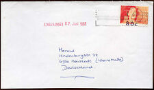 Netherlands 1993 Cover To Germany #C14456