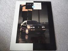 1993 VW Volkswagen Jetta III   Sales Brochure