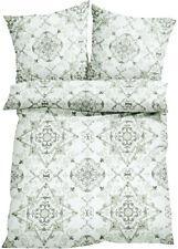 Hübsche 4 tlg. Baumwoll-Bettwäsche mit Ornament-Muster   135/200 cm  ***NEU***
