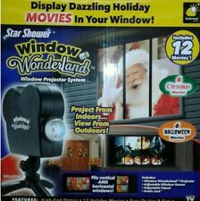 Star Shower Window Wonderland Window Projector 12 Holiday Movies