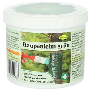 Schacht Raupenleim grün 500 g Leimring Naturleim zum Streichen  Rinde Ameisen