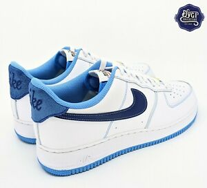 Nike Air Force 1 '07 First Use White Blue Men's Size 11.5 DA8478-100 AF1 New DS