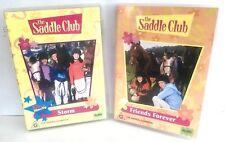2 X THE SADDLE CLUB DVD - Storm & Friends Forever Region 4 PAL Australian TV Dvd