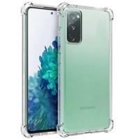 Coque de protection en TPU antichoc transparente pour Samsung Galaxy S20 FE 5G