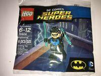 LEGO DC Comics Super Heroes Nightwing Minifigure 30606 Polybag Night Wing NEW