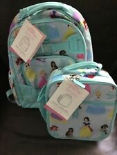 Pottery Barn Kids Disney Princess Backpack AND Lunch Bag