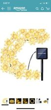 30 LED Solar String Lights Warm White Outdoor Waterproof Patio Decor 20ft. (I86)