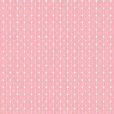 Henry Glass I Love You by Mari Cole 6294 22 Pink Heart Stripe FREE US SHIP