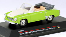 1/43 scale IST Models IST004 Wartburg 311 open convertible 1959 green white MIB