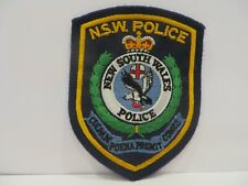 New South Wales Police Shoulder Patch Badge New Old Stock - NSW Australia