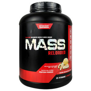 Betancourt MASS RELOADED Lean Muscle Mass Weight Gainer Protein - 5 lbs VANILLA