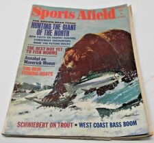Sports Afield February 1971-Hunting The Giant Of The North