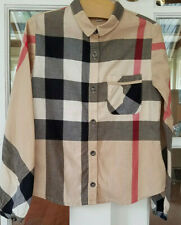 Burberry Girl's Button Down Shirt Fantasy Check Size 8 (25224)