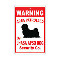 """Lhasa Apso  Xing Sign Dog Crossing  Sign NEW 10-3//4/"""""""
