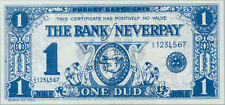 Bank of Neverpay 1 dud phoney certificate