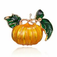 Fashion Halloween Enamel Pumpkin Brooch Pin Costume Badge Women Jewelry Gift NEW