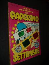 """SUPER ALMANACCO DI PAPERINO N.51 CON OCCHIALINI - MOLTO BUONO """"N"""""""