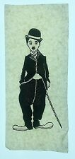 Vintage 60s Charlie Chaplin Iron-On Transfer The Tramp 4x7 inches Rare!