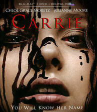 Carrie (Blu-ray/DVD, 2014, 2-Disc Set, Includes Digital Copy UltraViolet) - NEW!